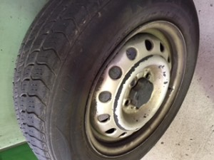 Damage to tyres