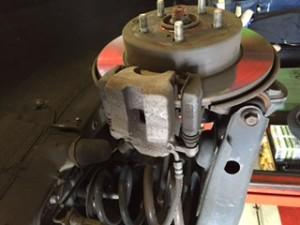 Mazda brake fault
