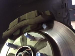 Nissan rear brakes
