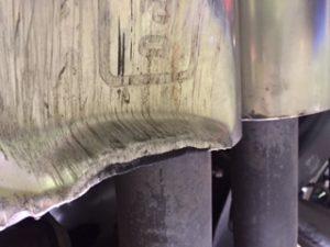 damaged-muffler